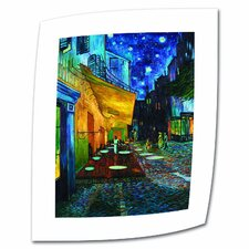 "Vincent van Gogh ""The Café Terrace on the Place Du Forum"" Canvas Wall Art"