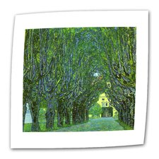 """Avenue in a Park"" by Gustav Klimt Original Painting on Canvas"