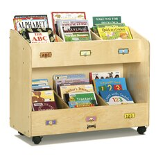 Mobile 6 Section Book Organizer
