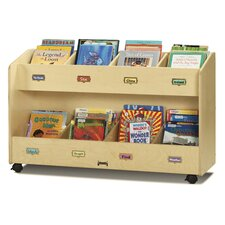 Mobile 8 Section Book Cart