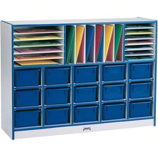 Rainbow Accents 31 Compartment Cubby