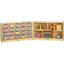 E-Z Glide Fold-n-Lock 25 Compartment Cubby