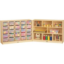 E-Z Glide Fold-n-Lock - 33 Compartment Cubby