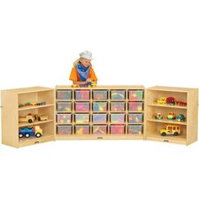 Triple Fold-n-Lock 29 Compartment Cubby
