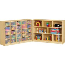 Fold-n-Lock 33 Compartment Cubby