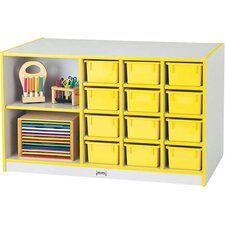 Rainbow Accents 14 Compartment Cubby