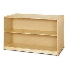Double Sided Island Straight Shelf Storage