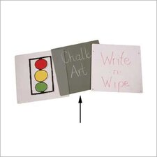 <strong>Jonti-Craft</strong> Chalkboard Easel Panel - Primary