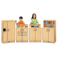 <strong>Jonti-Craft</strong> 4 Piece Birch Kitchen Set