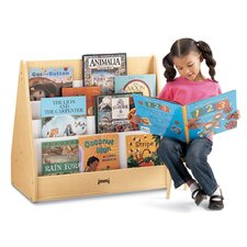 "<strong>Jonti-Craft</strong> 28"" H Multi Pick-a-Book Stand with Casters - 2 Sided"