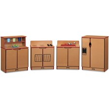 <strong>Jonti-Craft</strong> Sproutz 4 Piece Kinder-Kitchen Set