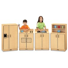 ThriftyKYDZ 4 Piece Birch Kitchen Set
