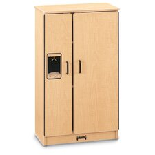 School Age Natural Birch Refrigerator