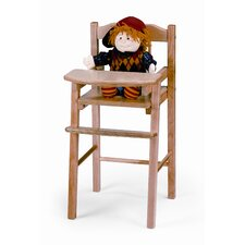 Traditional Doll High Chair