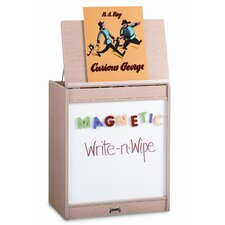 Magnetic Write-N-Wipe Big Book Easel