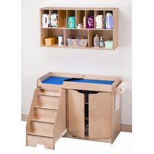 <strong>Jonti-Craft</strong> Right Changing Table with Stairs Combo