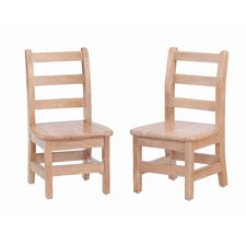 <strong>Jonti-Craft</strong> Ladderback Chair (Set of 2)