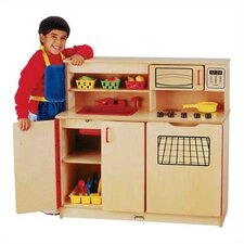 <strong>Jonti-Craft</strong> 4-in-1 Kitchen Activity Center