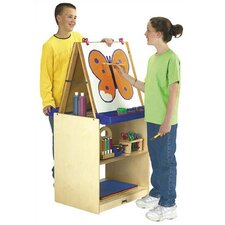 <strong>Jonti-Craft</strong> 2 Station Easel - School Age