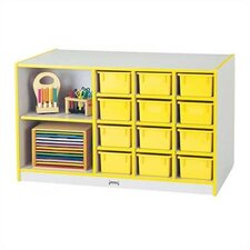 74ThriftyKYDZ Mobile Storage 14 Compartment Cubby