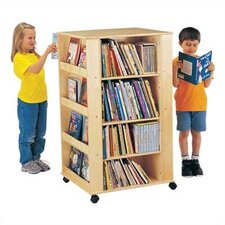 "ThriftyKYDZ Multimedia 46.5"" Book Cart"