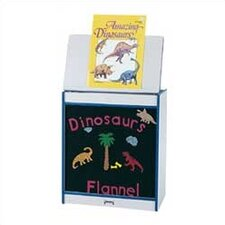 Rainbow Accents Big Book Easel - Flannel