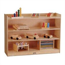 "<strong>Jonti-Craft</strong> ThriftyKYDZ 36"" H Mobile Bookcase w/ Lip"