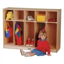 <strong>Jonti-Craft</strong> Toddler Coat Locker - 5 Sections