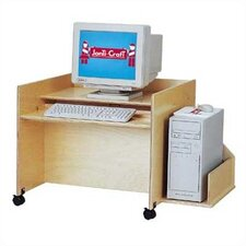 "<strong>Jonti-Craft</strong> ThriftyKYDZ 30"" W Single Computer Desk"