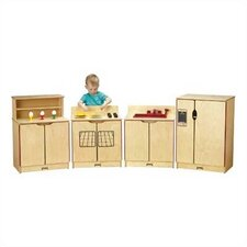 <strong>Jonti-Craft</strong> 4 Piece Kinder-Kitchen Set