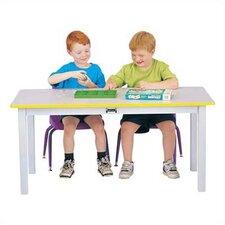 "Rainbow 48"" x 24"" Rectangular Classroom Table"