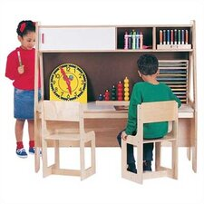 "Twin Activity Center 49.5"" W x 29"" D Youth Table"