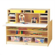 "<strong>Jonti-Craft</strong> Maxi 48"" W Script-n-Skills Station Children's Desk"