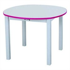 Rainbow Accents Kids Table