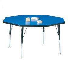 "<strong>Jonti-Craft</strong> KYDZ Toddler Height Activity Table- Octagon (48"" diameter)"