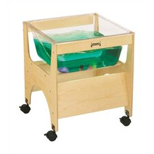 "<strong>Jonti-Craft</strong> See-Through Sensory Table - Rectangular (20.5"" x 20.5"")"