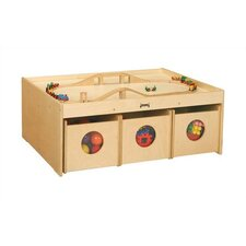"<strong>Jonti-Craft</strong> KYDZ Activity Table - Rectangular (34"" x 44"")"