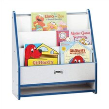 "<strong>Jonti-Craft</strong> 25"" H KYDZ Rainbow Accents Toddler Book Stand - Rectangular"