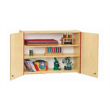 "KYDZ Lockable Wall Cabinet - Rectangular (35"" x 15"")"