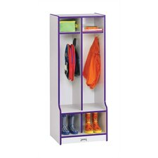 Rainbow 2-Sections Double Locker