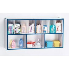 "<strong>Jonti-Craft</strong> KYDZ Rainbow Accents Diaper Organizer - Rectangular (47"" x 12"")"