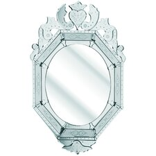 The Solitaire Octagonal Mirror