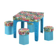 <strong>JaBox</strong> Kid's Square Pack and Play Table