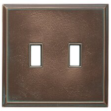 Classic Magnetic Double Toggle Wall Plate
