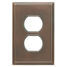 Classic Magnetic Single Duplex Wall Plate