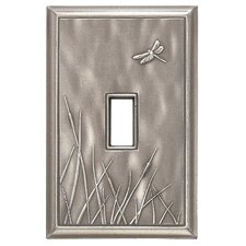<strong>RQ Home</strong> Deco Dragon Fly Magnetic Single Toggle Wall Plate