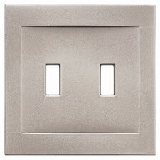Double Toggle Magnetic Wall Plate