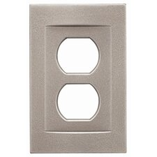 Single Duplex Magnetic Wall Plate