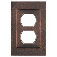 <strong>RQ Home</strong> Single Duplex Magnetic Wall Plate