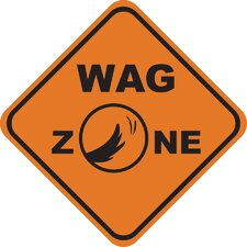 <strong>Little Gifts</strong> Wag Zone Car Magnet